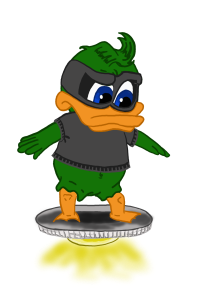 Quack-Bandit Hovering